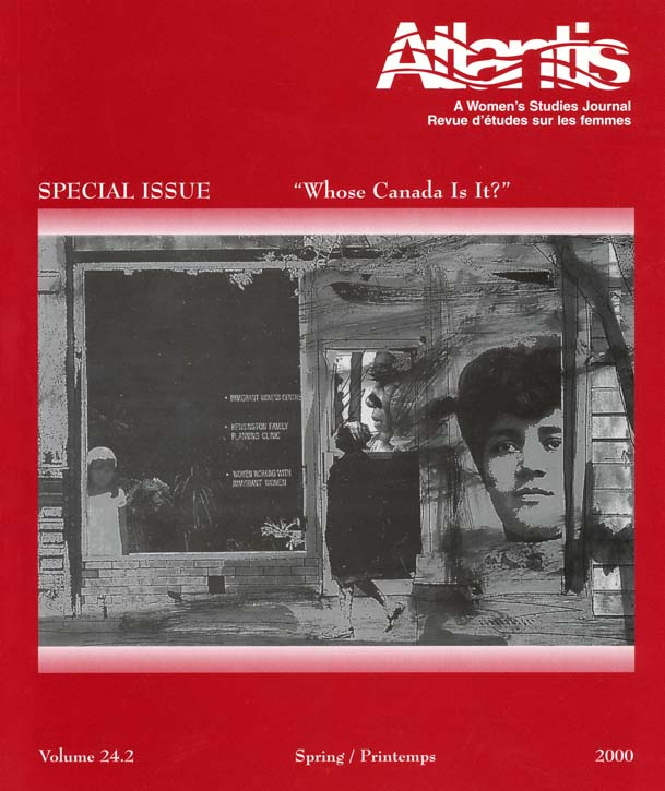 """View Vol. 24 No. 2 (2000): Special Issue: """"Whose Canada is it?"""""""
